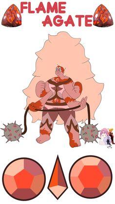 Lapis + Rose + Pearl = Morado Opal Personality below! Morado Opal.