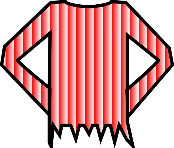Red Striped Shirt Clip Art at Clker.com.