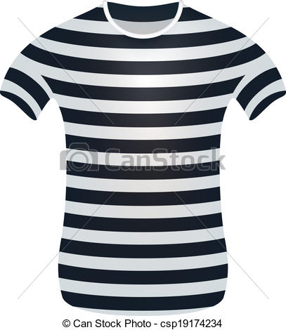 Striped t shirt Vector Clip Art Illustrations. 724 Striped t shirt.