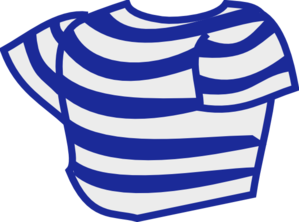 Striped Shirt Clip Art at Clker.com.