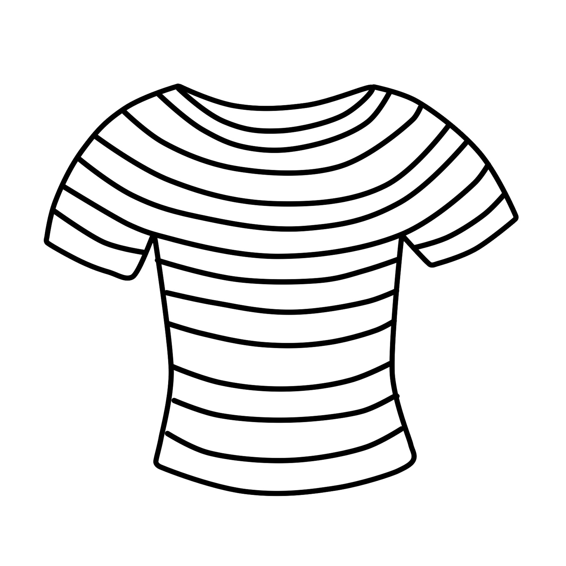 T Clipart Wiring Diagram Database Shirt Free Striped Clip.