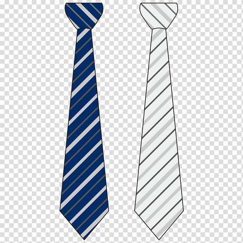 Necktie Businessperson Textile, Striped tie business people.