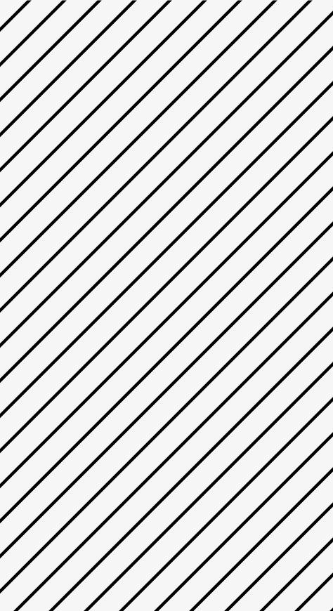 Diagonal Black Stripes, Diagonally, Black, White PNG.