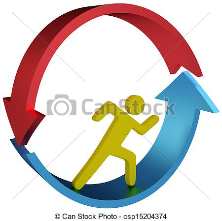 Striving Clip Art and Stock Illustrations. 704 Striving EPS.