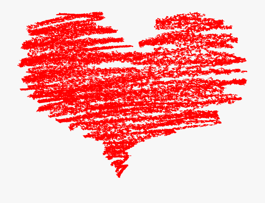 Hearts Clipart Brush Stroke.