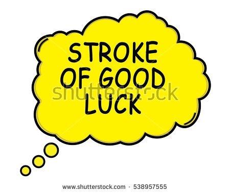 Stroke Of Luck Banco de Imagens, Fotos e Vetores livres de.