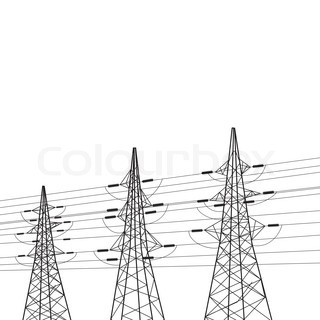 Electrical tower.