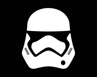 Star helmet decal.
