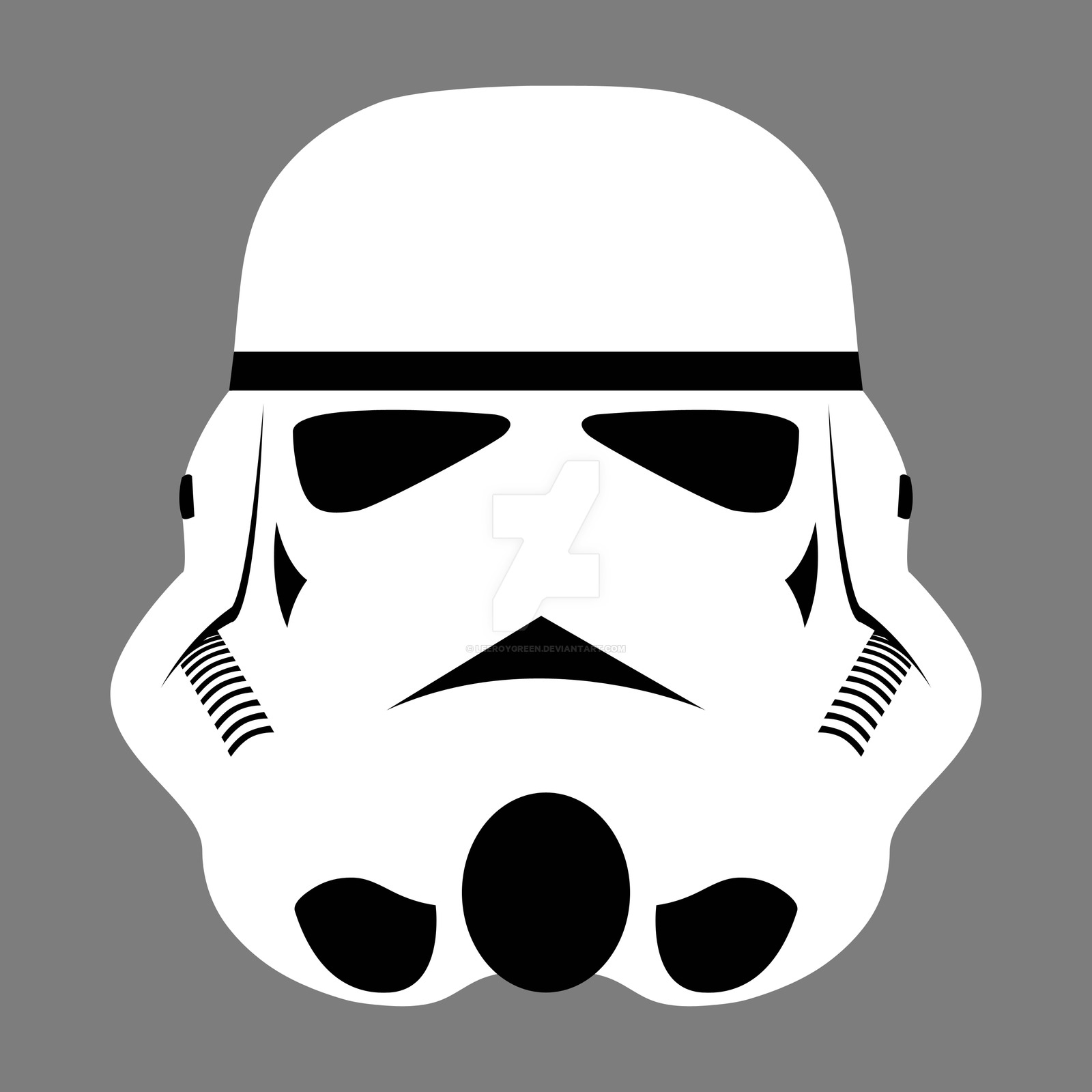 Free Vector Storm Trooper.