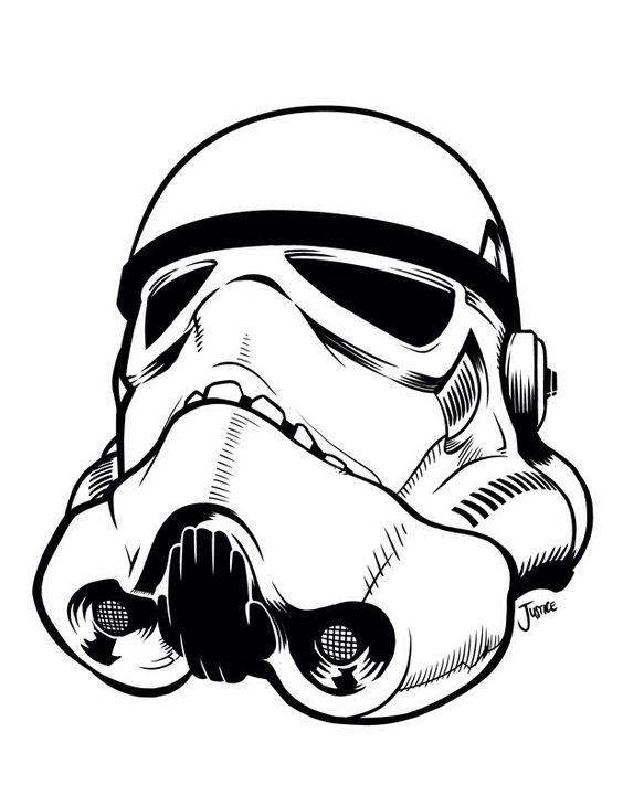 stromtrooper head clipart Clipground