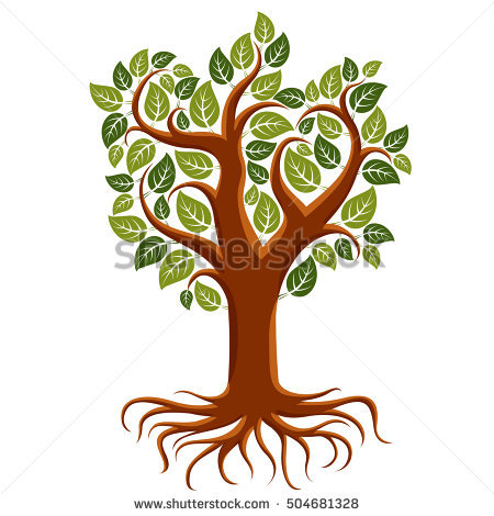 Strong Roots Stock Photos, Royalty.