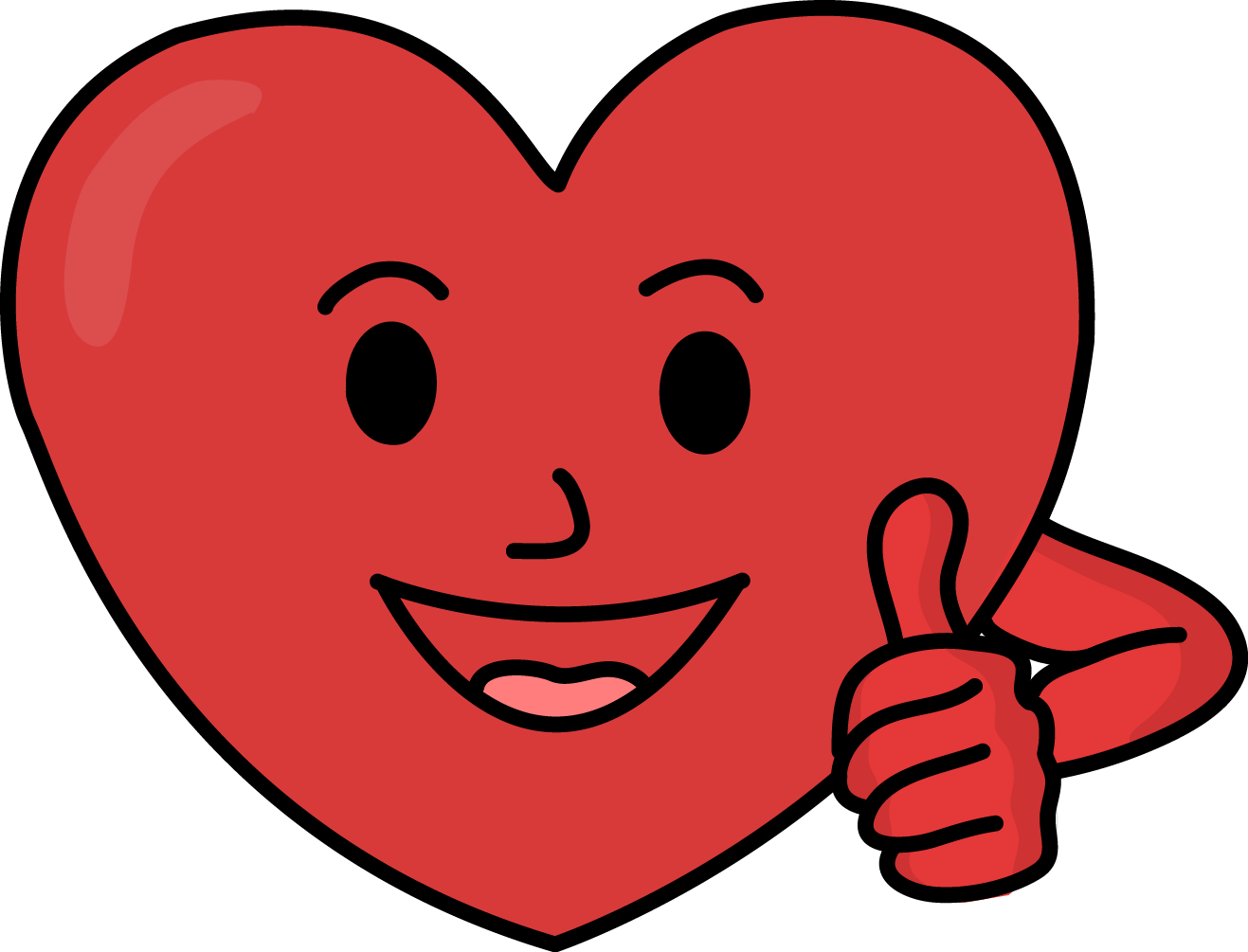 44218 Heart free clipart.
