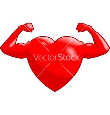 Strong Heart Clipart.