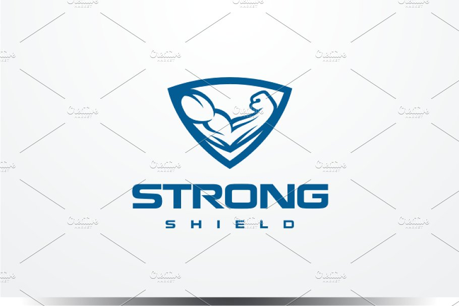 Strong Shield Logo.
