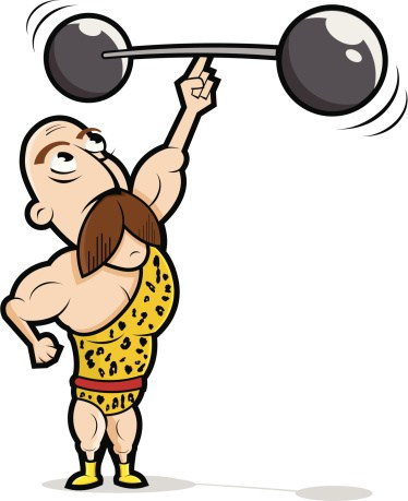 Clipart of strong man 3 » Clipart Portal.