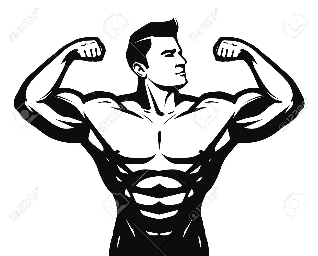 Strong People Clipart.