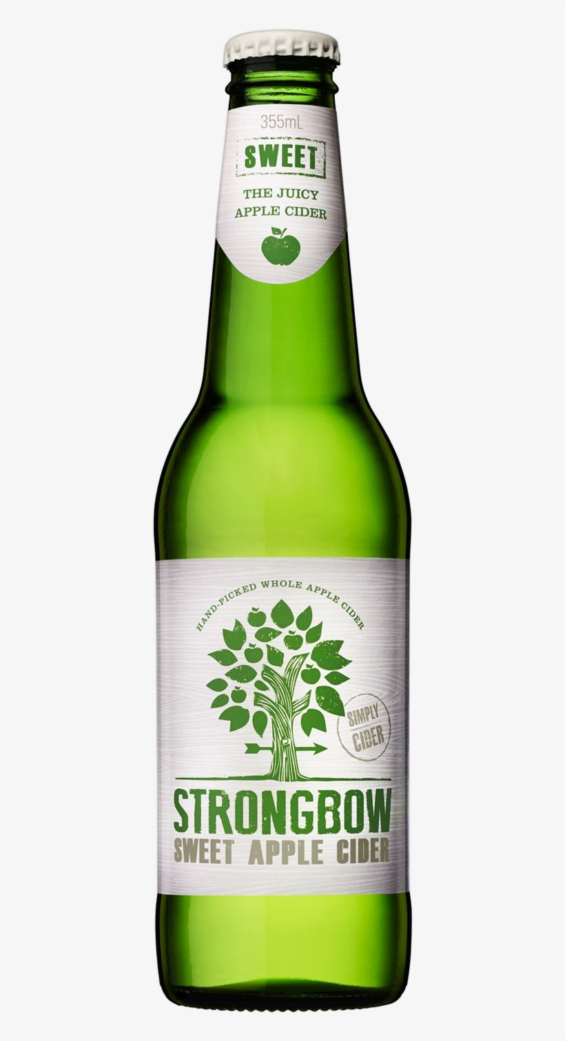 Strongbow Sweet Apple Cider.