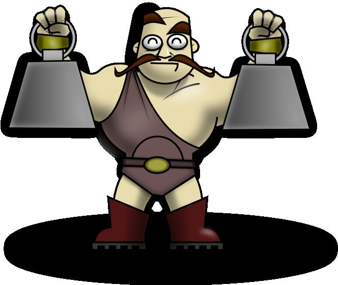 Free Strongman Clip Art.