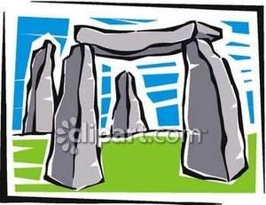 Stone Structures of Stonehenge.