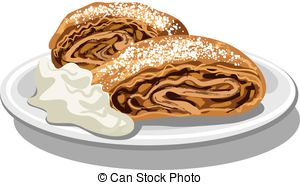Strudel Clip Art and Stock Illustrations. 111 Strudel EPS.