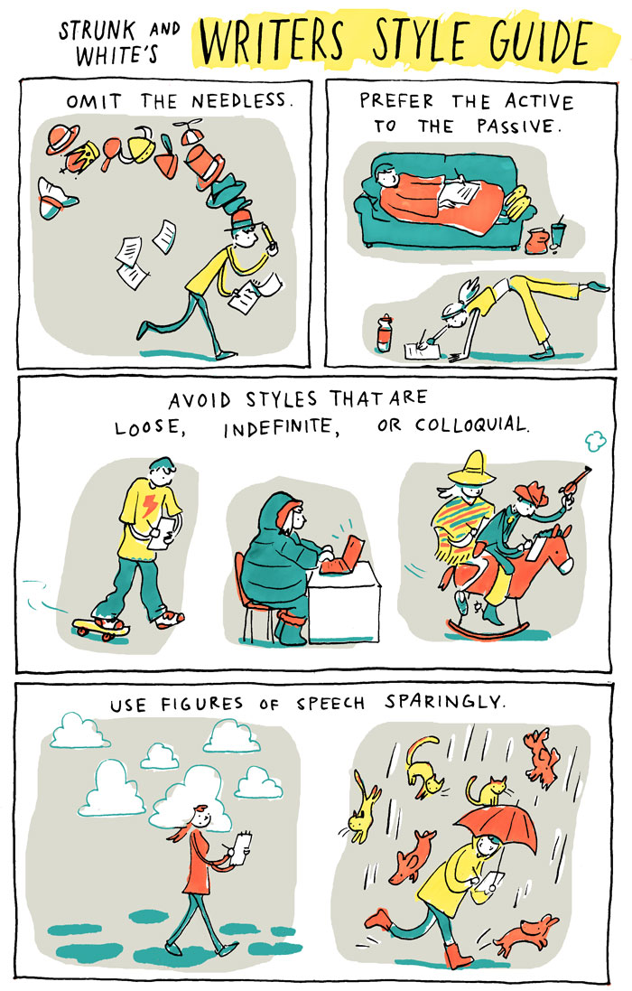 INCIDENTAL COMICS: Writers Style Guide.