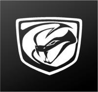 Dodge Viper Stryker Logo Vinyl Decal Car Truck Window Body Sticker.