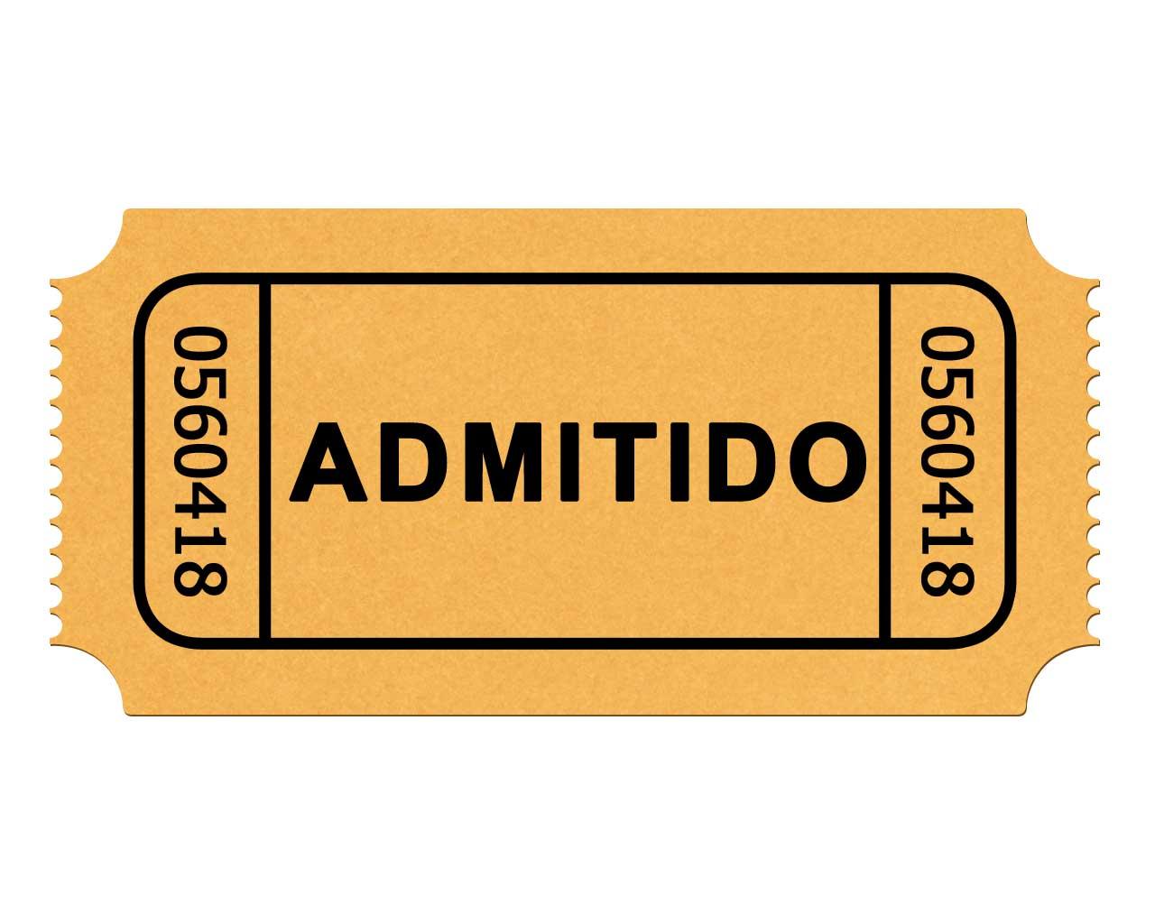 Movie Ticket Stub Clip Art Free.