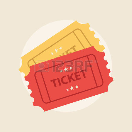1,279 Ticket Stub Stock Vector Illustration And Royalty Free.