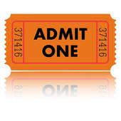 Ticket stub clip art free.