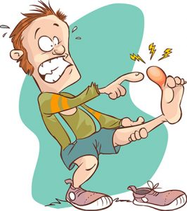 stubbed toe clipart #4