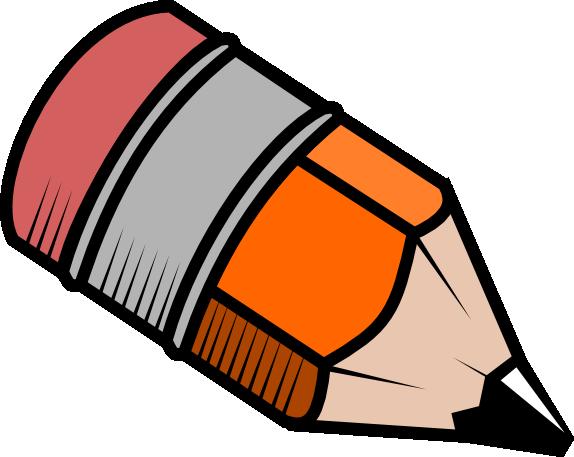 Fat Pencil Clipart.