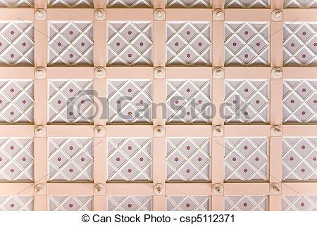 Stock Photography of Stucco ceiling.