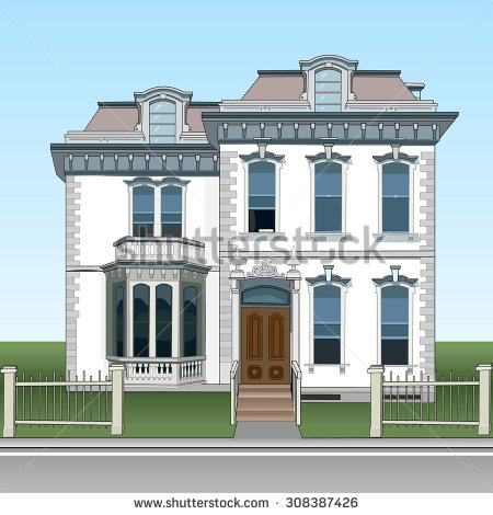 Stucco House Stock Vectors, Images & Vector Art.