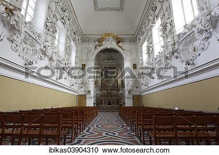 """Stock Photography of """"Oratorio del Rosario di Santa Cita, with."""