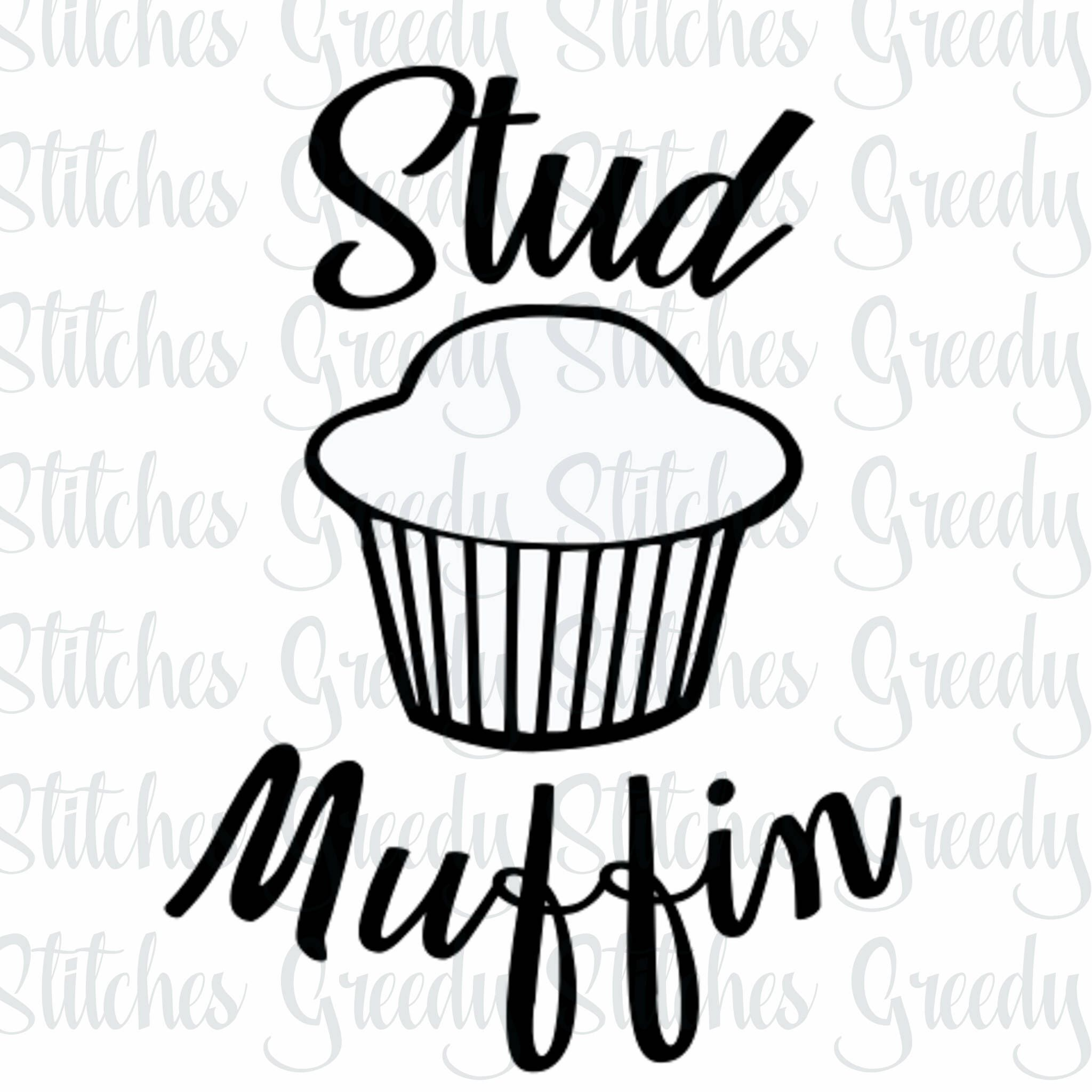 Stud Muffin svg png eps dxf.