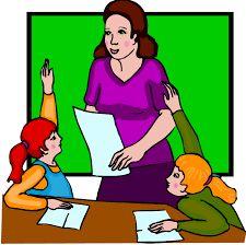 Billedresultat for children listening to teacher clipart.