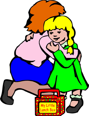 Free Teacher Hugging Student Clipart.