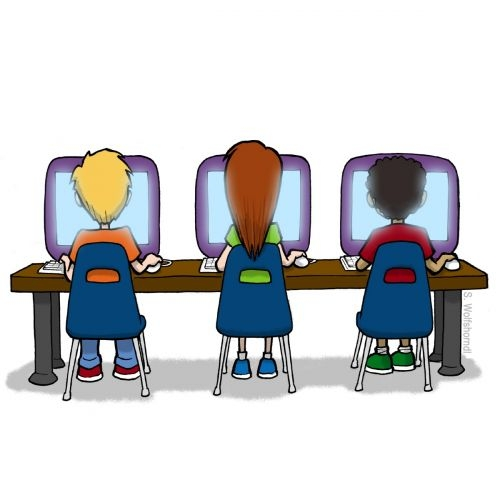 Free Student Computer Cliparts, Download Free Clip Art, Free.