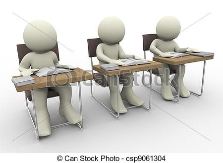 Student Audience Clipart.