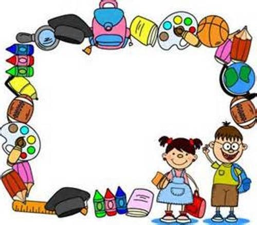 Student Border Clipart.