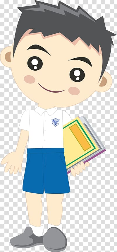 Illustrator , Student boy transparent background PNG clipart.