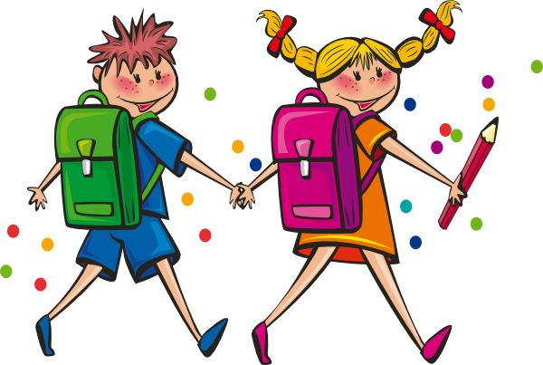 Animated Students Clipart.