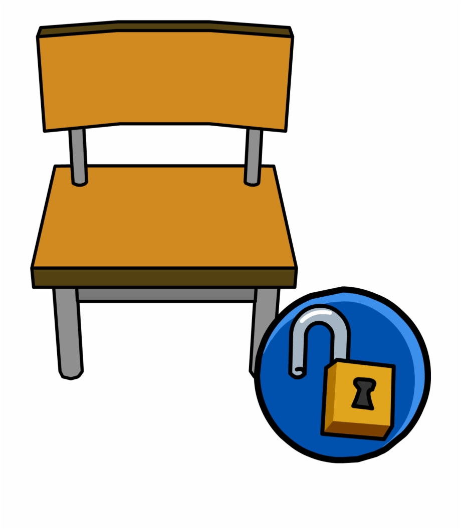 Furniture Clipart Student Chair.