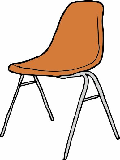 Classroom Chair Clipart.