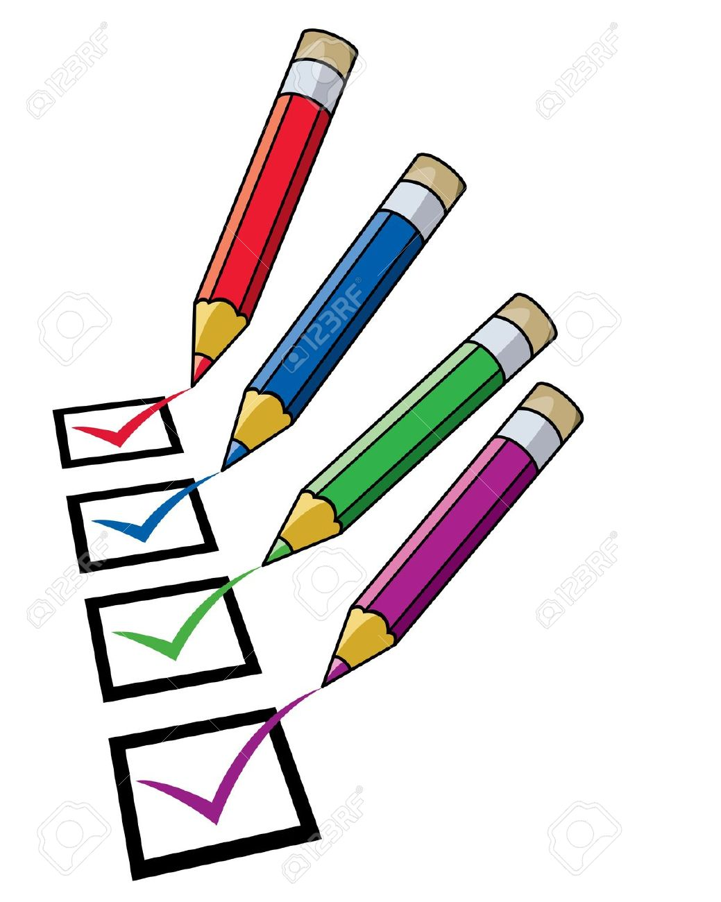 student checklist clipart - clipground