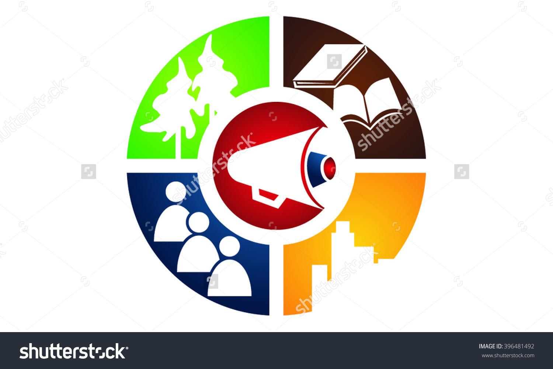 Student City Voice Logo Stock Vector Illustration 396481492.