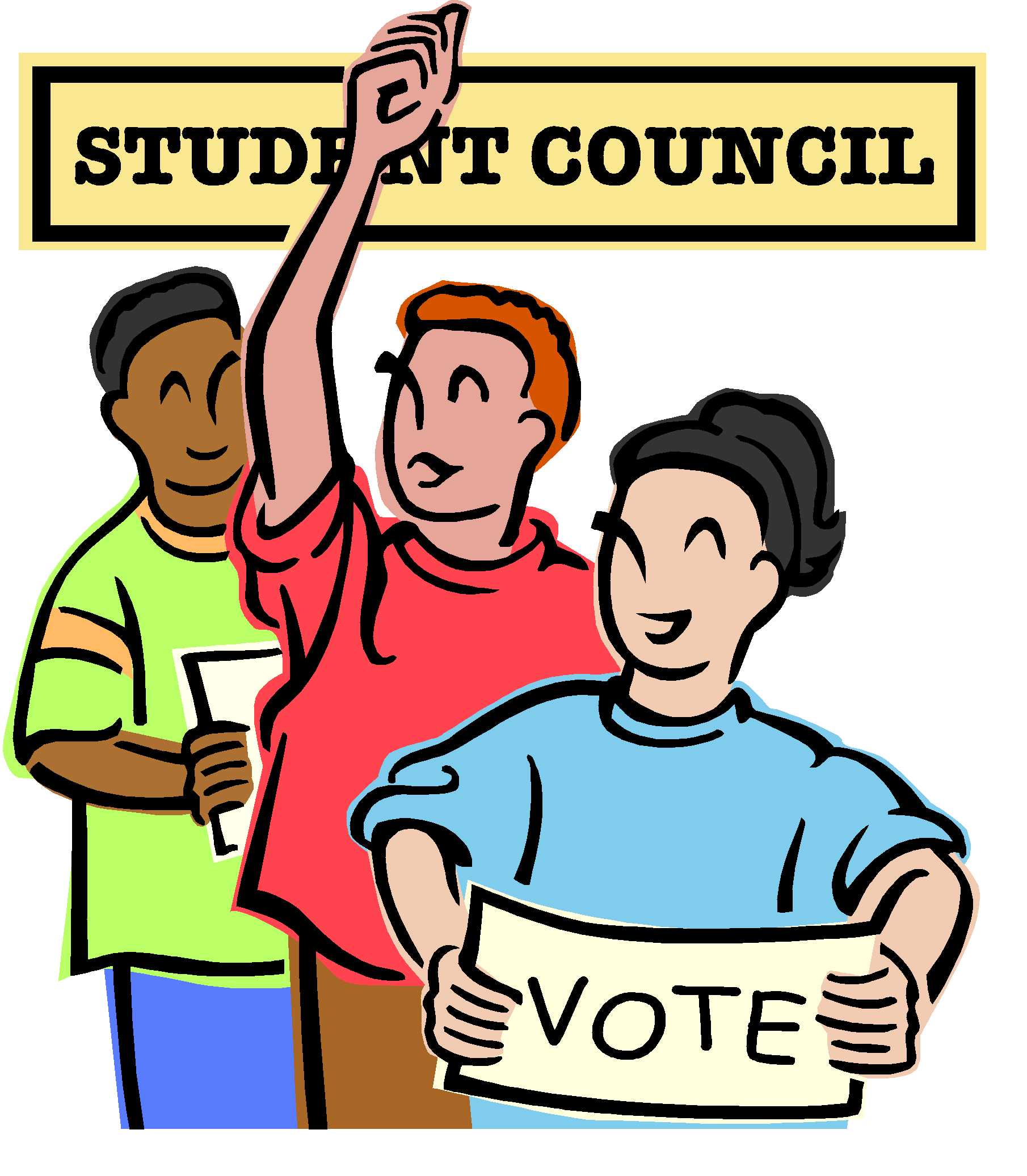 Student Council Clipart People Qualifications.