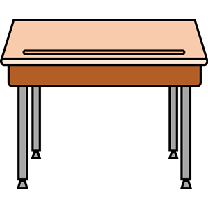 student desk clipart, cliparts of student desk free download.