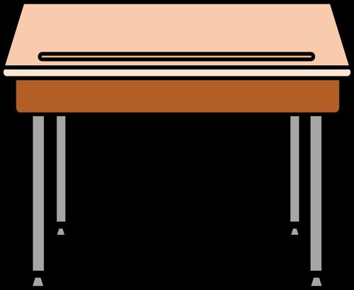 Student desk.