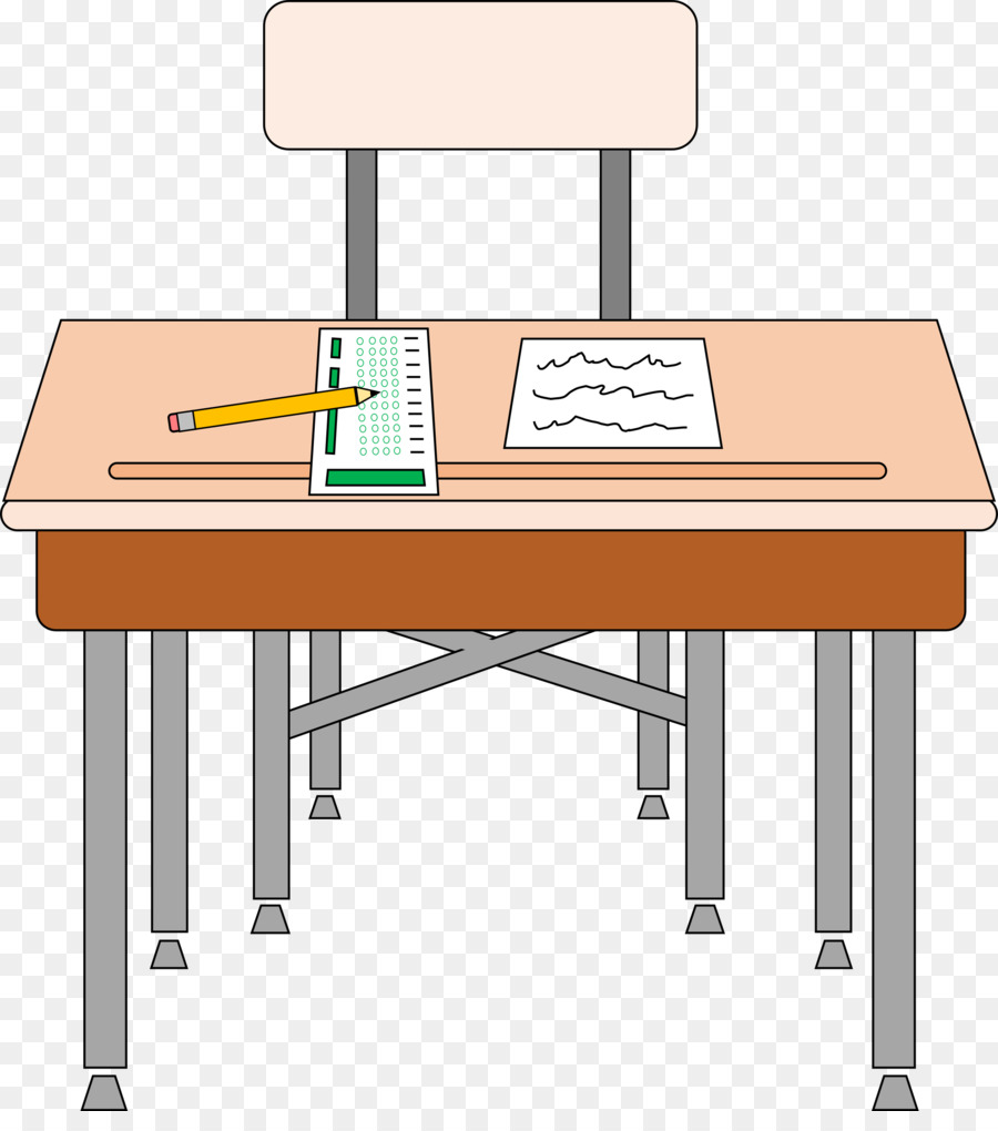 School Desk png download.